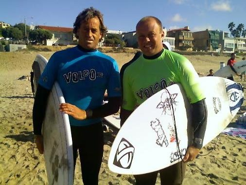 Tom Curren And Chuck Rigano