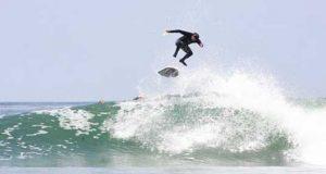 Surfing Podcast - Zoltan Torkos First Above Lip Surfing Kickflip Volcom