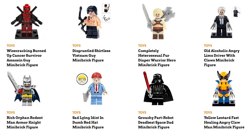 Minifigures from ShopAFT.com